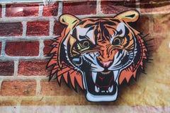 Tiger Head Lizenzfreie Stockbilder