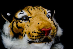 Tiger head bag isolated. White background Royalty Free Stock Images