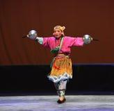 """Tiger head hat-Children's Beijing Opera""""Yue teenager"""" Stock Photography"""
