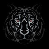 Tiger head illustration Stock Photos