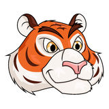 Tiger head illustration 2 Stock Photo