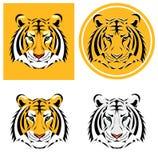 Tiger Head Ilustración del vector Fotografía de archivo libre de regalías