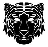 Tiger Head Tattoo Stock Photo