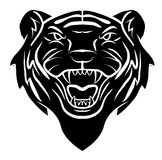Tiger Head Tattoo Royalty Free Stock Photo