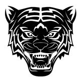 Tiger Head Tattoo Royalty Free Stock Photo