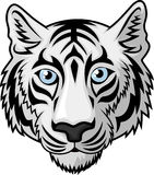 Tiger Head Tattoo Royalty Free Stock Photos