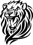 Tiger head_tribal Stock Images