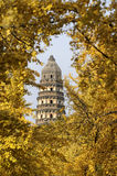 Tiger hill pagoda, Suzhou stock images