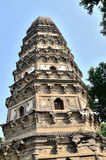 Tiger hill pagoda in suzhou. Tiger Hill is Wuzhong first scene Royalty Free Stock Photo