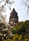 Tiger Hill in Suzhou Royalty Free Stock Photography