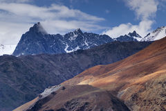 Tiger hill, tiger point, kargil, ladakh, India Royalty Free Stock Photography