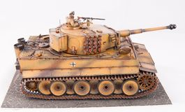 German heavy tank of World War II model Royalty Free Stock Image