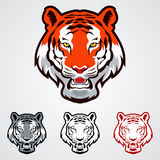 Tiger Icons Imagem de Stock Royalty Free