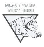 Tiger. Illustrator design .eps 10 Stock Photo