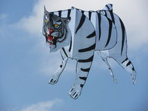 Tiger_Kite. This Kite represents Indian Tiger in the air Stock Image