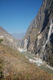 Tiger Leaping Gorge. In Yunnan of China Stock Photography