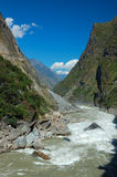 Tiger Leaping Gorge. On the yangtze river near lijiang Royalty Free Stock Image