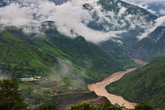 Tiger Leaping Gorge. Eastphoto, tukuchina, Tiger Leaping Gorge Royalty Free Stock Photography