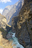 Tiger Leaping Gorge (hutiaoxia) near Lijiang, Yunnan Province, China Stock Image