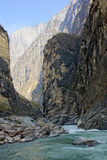 Tiger Leaping Gorge (hutiaoxia) near Lijiang, Yunnan Province, China Royalty Free Stock Photos