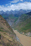 Tiger Leaping Gorge In Southwest China Royalty Free Stock Photography