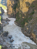 Tiger Leaping Gorge, Lijiang City, Yunnan, China. Royalty Free Stock Photography