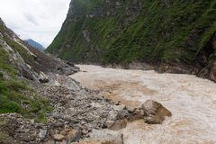 Tiger Leaping Gorge Lijiang Stock Photography