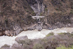 Tiger leaping gorge located north of Lijiang city, Yunnan Provin Stock Photography