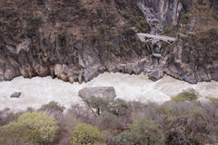 Tiger leaping gorge located north of Lijiang city, Yunnan Provin Stock Image