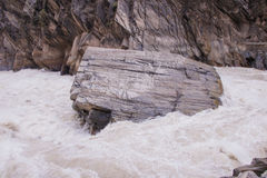 Tiger leaping gorge located north of Lijiang city, Yunnan Provin Royalty Free Stock Images