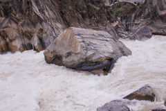 Tiger leaping gorge located north of Lijiang city, Yunnan Provin Stock Images
