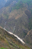 Tiger leaping gorge  in  southwest  china Stock Image