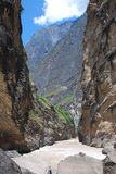 Tiger leaping gorge  in  southwest  china Royalty Free Stock Photos