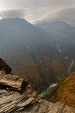 Tiger leaping gorge, yunnan, china Stock Photos