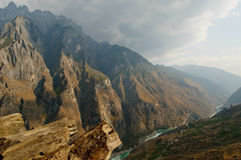 Tiger leaping gorge, yunnan, china Stock Images