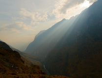 Tiger leaping gorge, yunnan, china Royalty Free Stock Photos