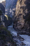Tiger Leaping Gorge in Yunnan scenery Stock Photo