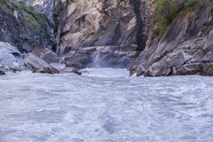 Tiger Leaping Gorge in Yunnan scenery Royalty Free Stock Photo