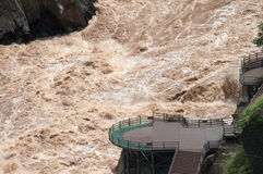 Tiger Leaping Gorge, Yunnan. Yangtze River - Tiger Leaping Gorge, Yunnan Stock Photography