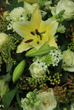 Tiger Lily wedding arrangement Stock Photo