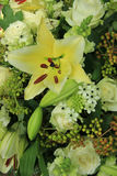 Tiger Lily wedding arrangement Stock Images
