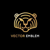 Tiger logo design Stock Images