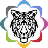Tiger logo Royalty Free Stock Image