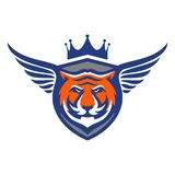 Tiger Logo Template Photographie stock libre de droits
