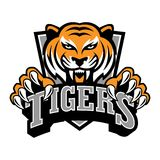 Tiger Logo Template Photographie stock