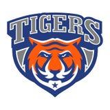 Tiger Logo Template Image libre de droits