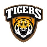 Tiger Logo Template Stock Image