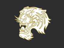 Tiger logo Royalty Free Stock Images