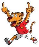 Tiger Mascot Royalty Free Stock Photo