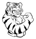 Tiger Mascot Royalty Free Stock Photography